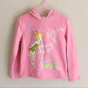 🌸4 for $18🌸 Toddler Girl Pink Tinker Bell Hoodie